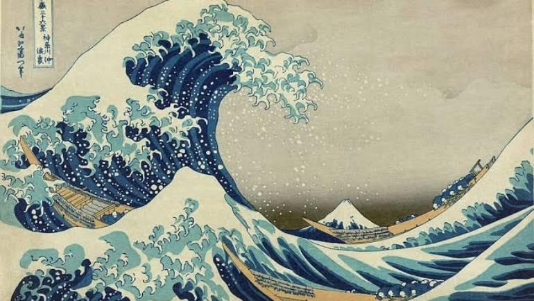 """Meditação – poema """"Hokusai diz"""" de Roger Keyes"""